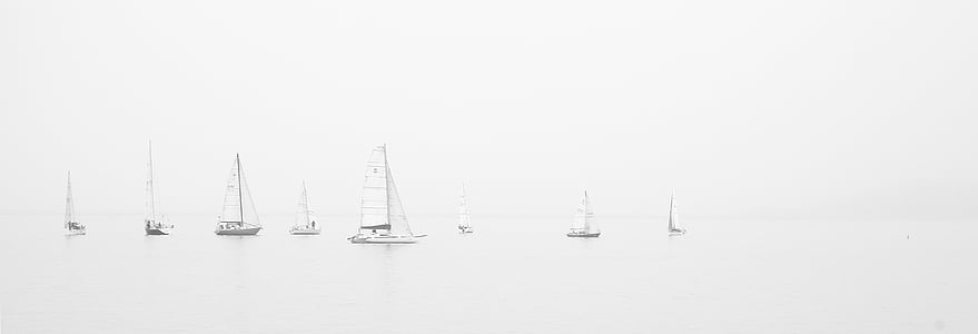 white sailboat lot