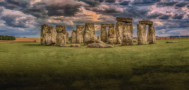 photo of Stone Henge, England