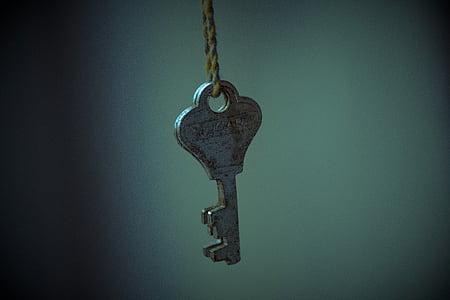 stainless steel key