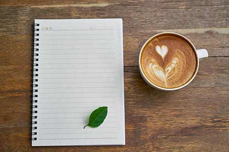 white writing book