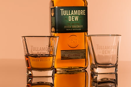 Tullamore Dew bottle