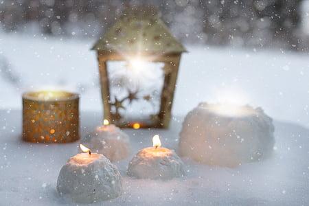 beige candle lantern