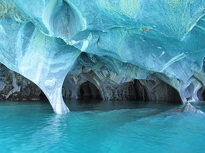 ocean near cave