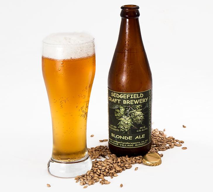 Sedgefield Craft Brewery Blonde Ale bottle
