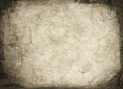 white and black map illustration
