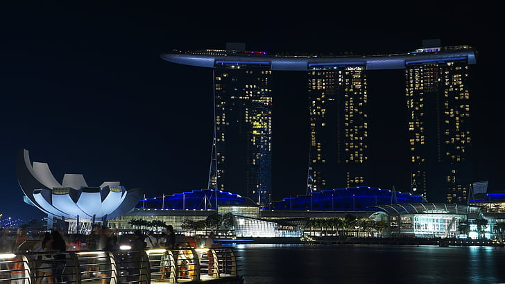 Marina Bay and Sands hotel, Singapore