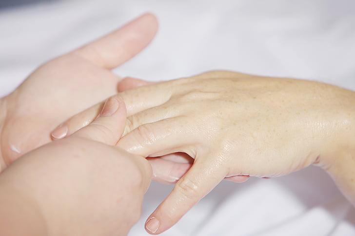 human fingers