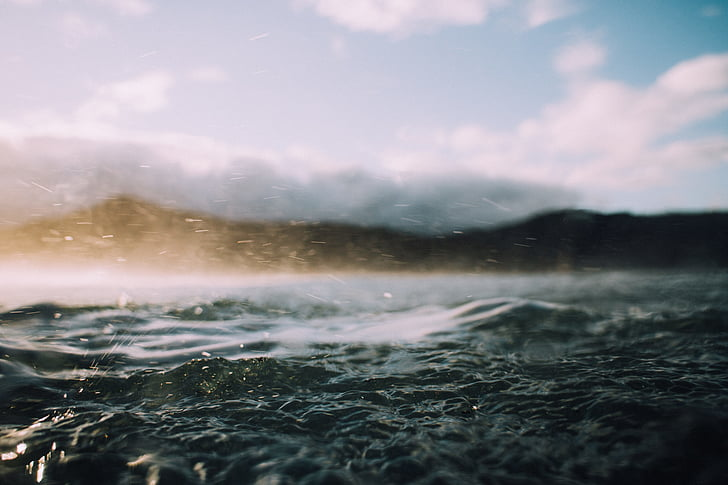 close up photo of sea water