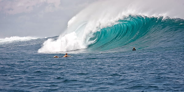 person performing surf stance