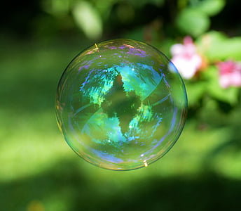 round clear bubble
