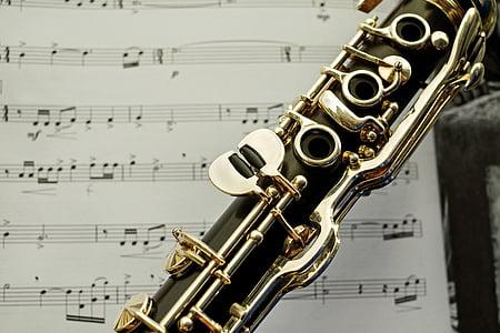 closeup photo of wind instrument