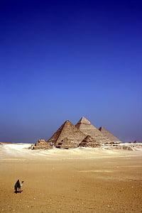 pyramid during daytime