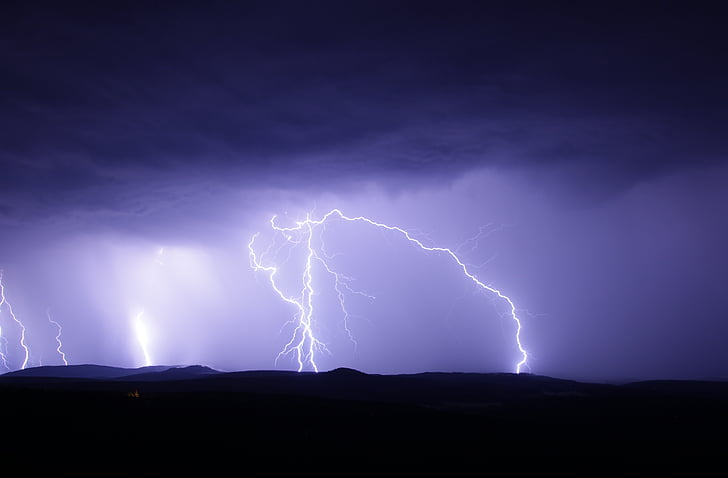 Royalty Free Photo Lightning