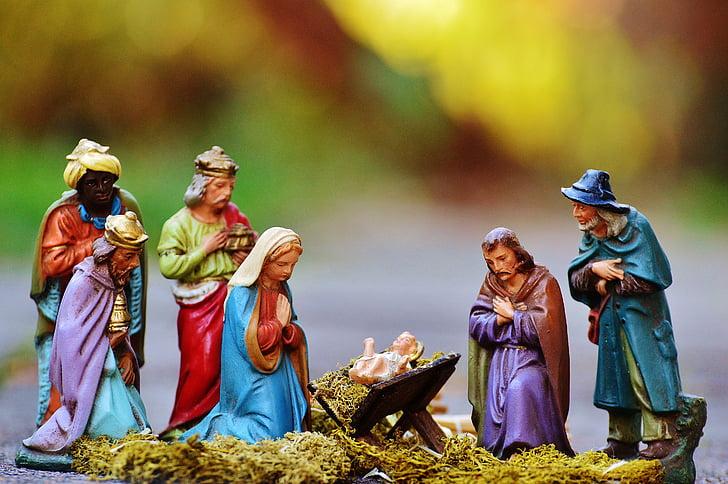 The Nativity figurine