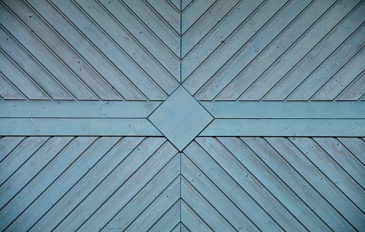 gray diamond wooden decor