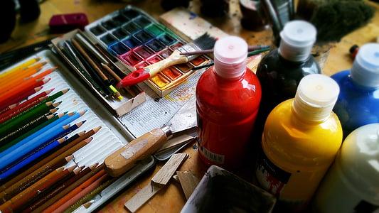 assorted paint kit