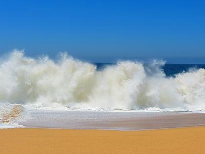 landscape white sand photo