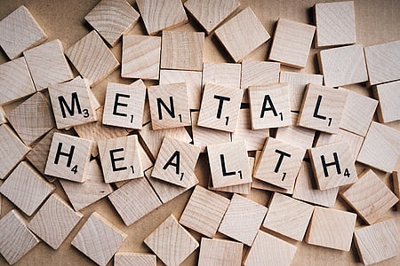 Mental Health wooden boards