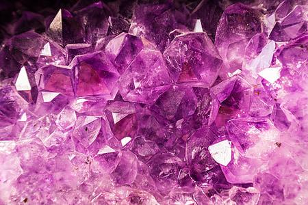 purple gemstone HD wallpaper