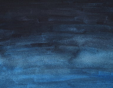 black and blue abstract painting