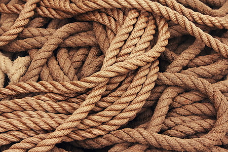 brown rope