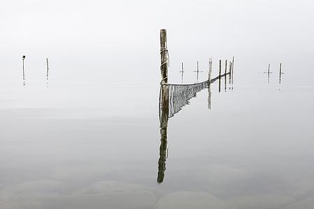 fishing net pole photo