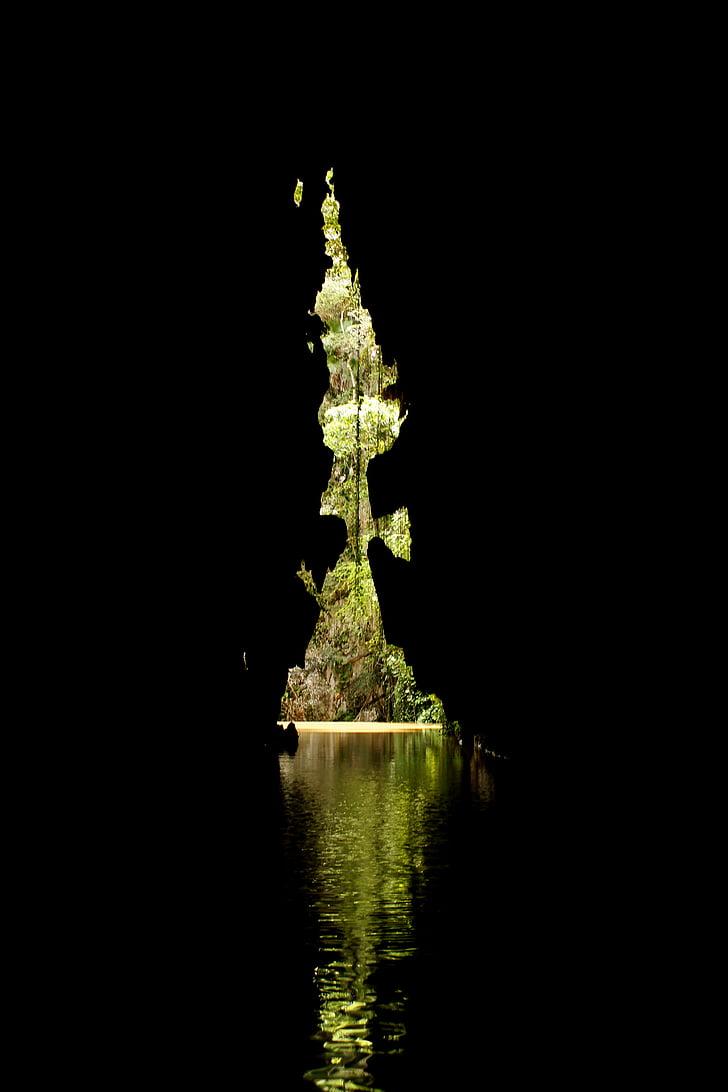 underground cave river