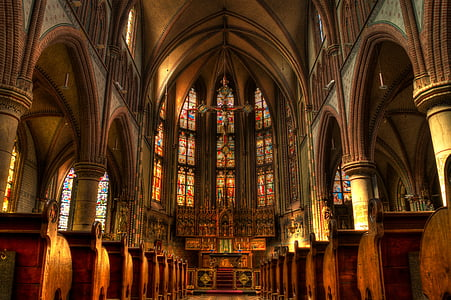 interior view of cathedral