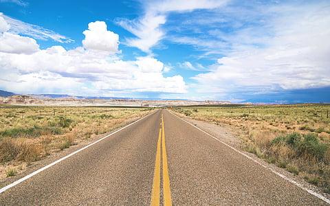 gray asphalt road during daytime