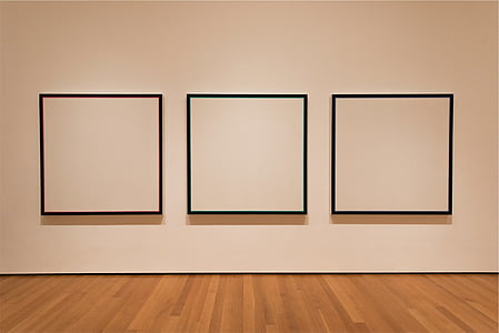 white wall with three black boxes illustration