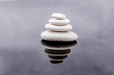 four white stone