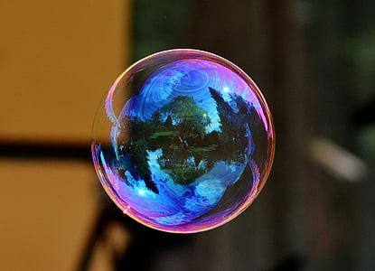 bubbles close-up photo