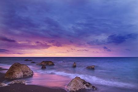 stones on seashore