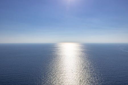 landscape photography of ocean under clear sky during daytime