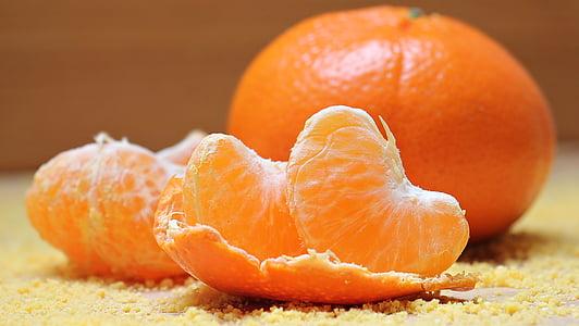 peeled orange fruit