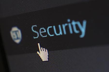 security click button