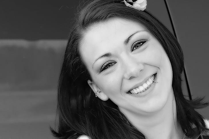 Royalty Free Photo Woman Smiling Pickpik