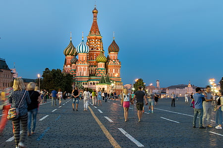 photography of St. Basil's Cathedral