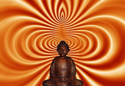buddha in lotus position statute