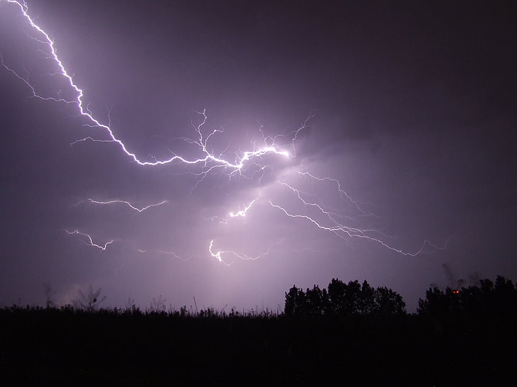 Royalty Free Photo Lightning Strike Photography