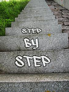 gray concrete stairways