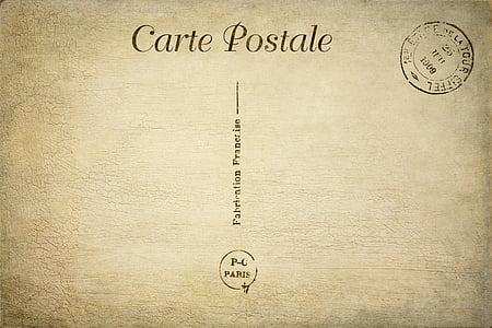 Carte Postale board