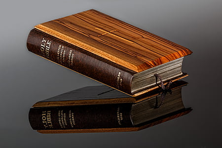 close up photo of holy bible