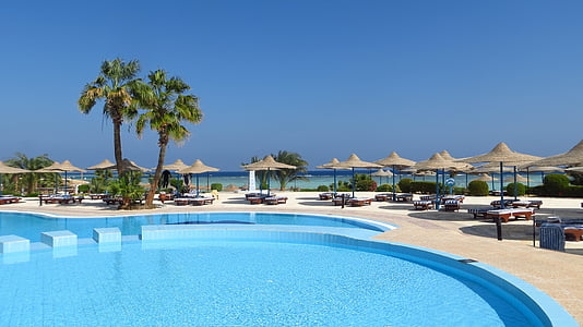 resort during daytime