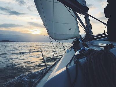 sailboat view during daytime