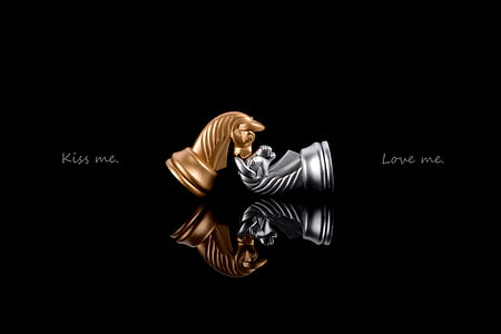 Kiss Me. Love Me. illustration