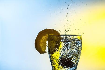 Coca-Cola drinking glass