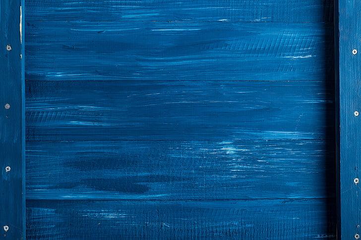 rectangular blue wooden board