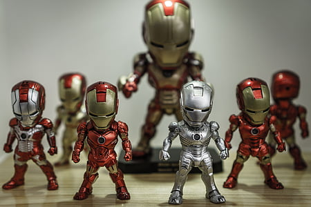 photo of Marvel's Ironman figurine collection
