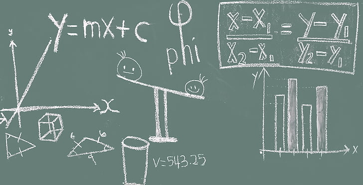Royalty-Free photo: Mathematical equations | PickPik